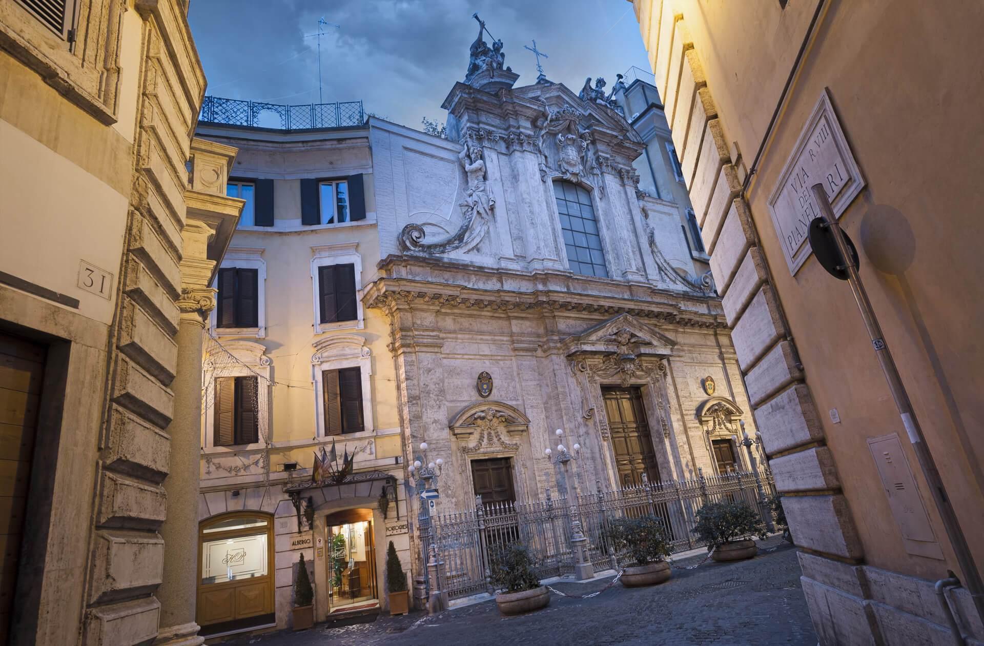 Hotel portoghesi roma sito ufficiale hotel a roma centro for Hotel roma centro